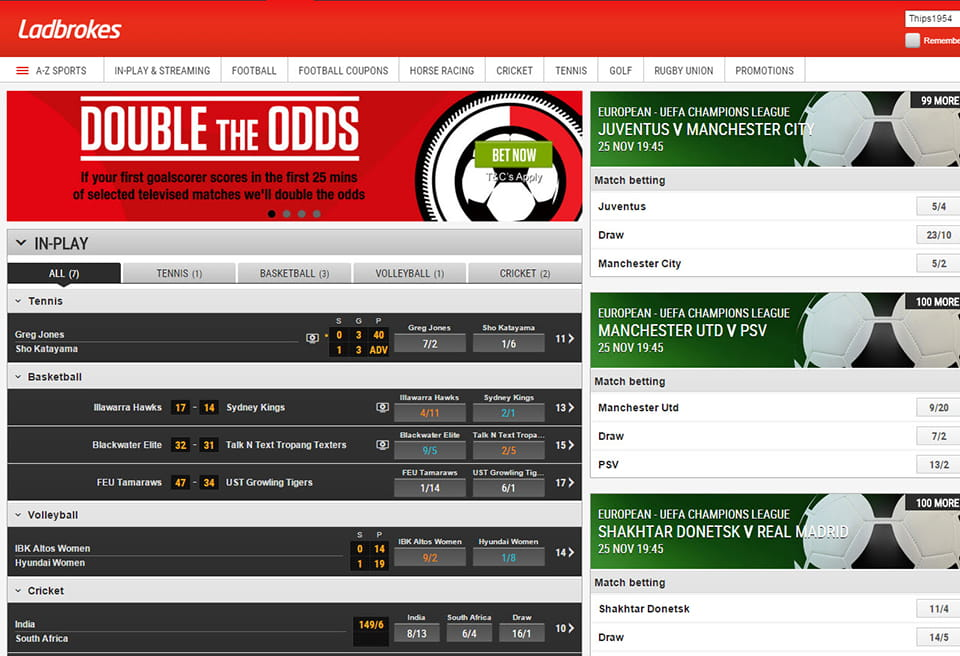 Online betting ladbrokes betting azure capital investment limited partner